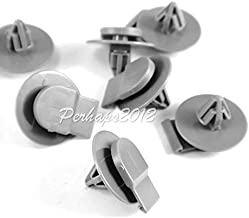 FidgetKute 100pcs Gray Nylon for Mini Cooper Moulding Clips 2002-On 07-13-2-757-821