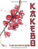 KAKEBO 2021 Livre de compte: Agenda pour tenir son budget mois par mois - Format 21.6 x 27.9 cm, 170 pages, couverture mat