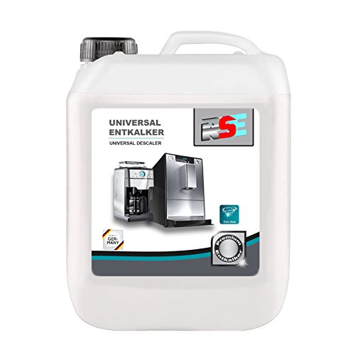 5 Liter RSE Premium Universal Entkalker für Kaffeevollautomaten, Espressomaschinen, Kaffeepad und Kapselmaschinen