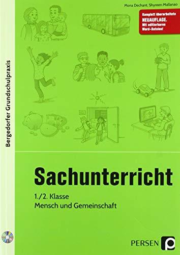 Sachunterricht, 1./2. Kl., Mensch und Gemeinschaft: 1. und 2. Klasse (Bergedorfer® Grundschulpraxis)