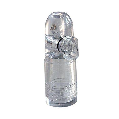 Dosierer Portionierer sniff snuff bottle sniffer Spender Dispenser dispensers Batcher von M&M Smartek Deutschland Weiß/Durchsichtig