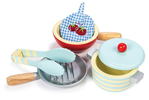 Le Toy Van : Honeybake Wooden Pots And Pans