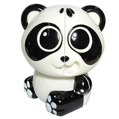 RENFEIYUAN Yuxin Panda 2x2x2 Irregular MA ABS Sticker sin adición Juguete Rubik Cubo