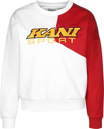Karl Kani Sport Crew Sweater White/red/Yellow