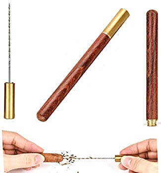 Cigar Draw Enhancer Tool QBOSO Travel Cigar Draw with Wooden Case,Getting More 30% Benefit for Each Shot  Simple