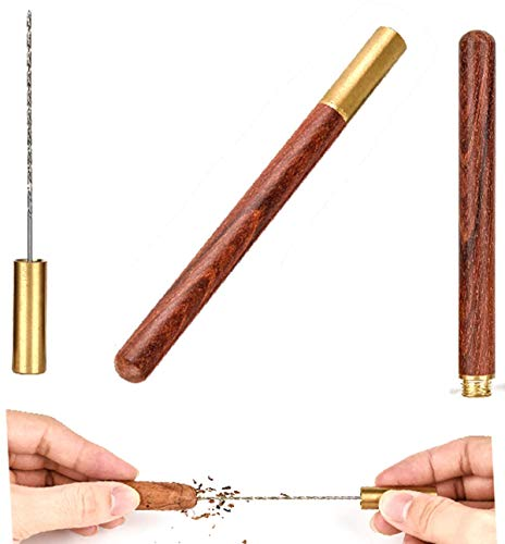 Cigar Draw Enhancer Tool QBOSO Travel Cigar Draw with Wooden Case,Getting More 30% Benefit for Each Shot. (Simple)