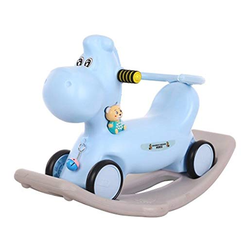 Best Prices! YUMEIGE Rocking Ride-Ons Kid Rocking Toy,PE Plastic、with Guardrail、Rockers & Ride...