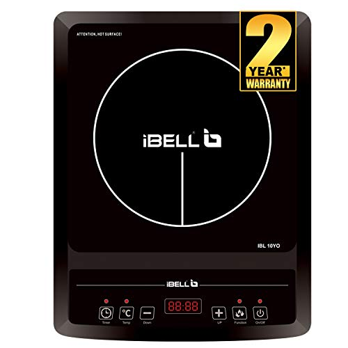 iBELL Hold The World. Digitally! Induction Cooktop 2000 W with Auto Shut...