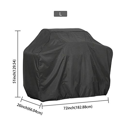 niumanery BBQ Cover Outdoor Dust Waterproof Weber Heavy Duty Grill Cover Rain Protective 12#