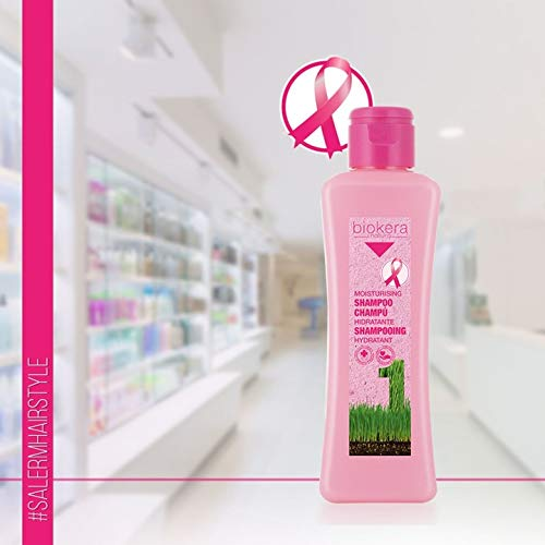 Salerm Biokera Champu Hidratante 300ml Pink