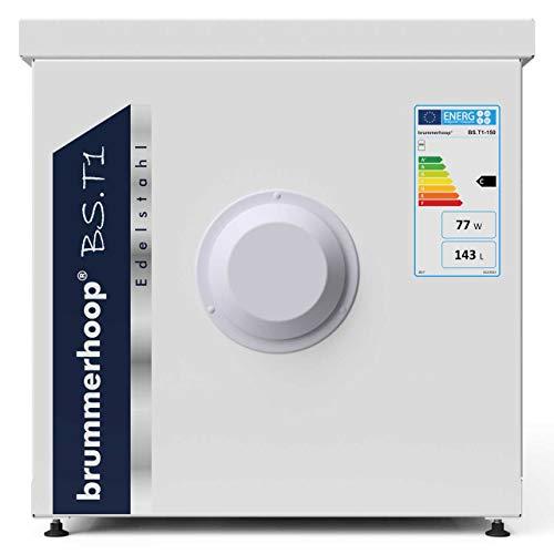 BS.T1-150 liegender Edelstahl Warmwasserspeicher/Unterstellspeicher