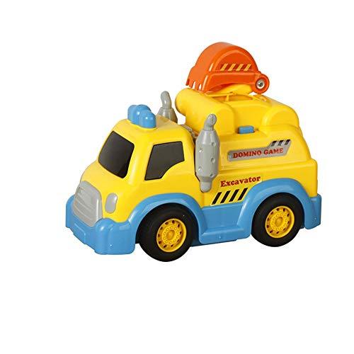 Lihgfw Gestartet in Baufahrzeugen, Kinder 3-6 Jahre alt, erteilten Lizenzen, Puzzle Elektro Toy Cars, Mechanisch Automatische Karten und kann auch in Verschiedene Formen gebracht Werden