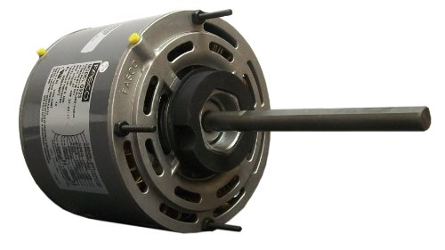 Fasco D703 5.6-Inch Direct Drive Blower Motor, 1/2 HP, 208-230 Volts, 1075 RPM, 3 Speed, 4.0 Amps, OAO Enclosure, Reversible Rotation, Sleeve Bearing
