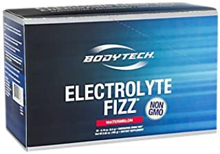 BodyTech Electrolyte Fizz Packets, Watermelon Supports Energy Endurance with 1200MG of Vitamin C, On The Go Refreshment (3...