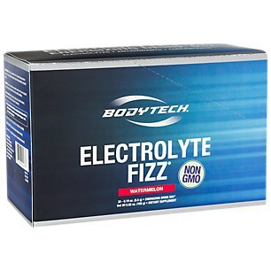 BodyTech Electrolyte Fizz Packets, Watermelon Supports Energy Endurance with 1200MG of Vitamin C, On The Go Refreshment (30 Packets)