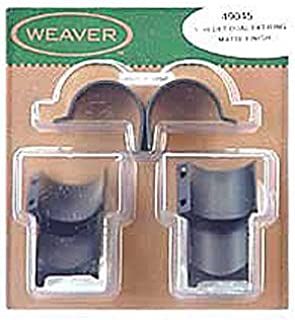 Weaver Detachable Extension 1-Inch Dual Extension Top Mount Rings
