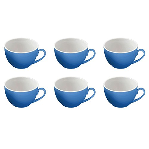 6er Kaffeetasse 200ml Doppio indigo-blau