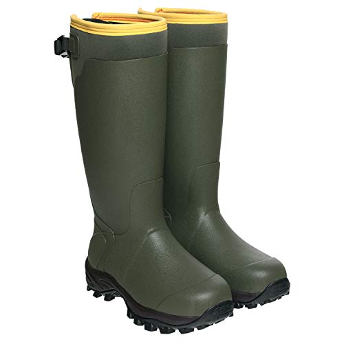 HISEA Hunting Boots for Men Waterproof Mens and Womens Rain Boots Neoprene Rubber Insulated Shoes...