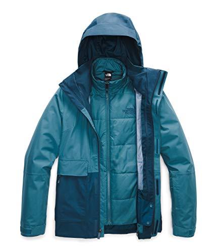 The North Face Women's Garner Triclimate Jacket, Mallard Blue/Blue Wing Teal/Mallard Blue Heather, X-Small