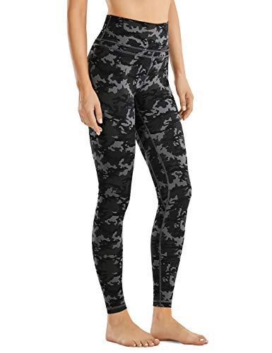 CRZ YOGA Mujer Mallas Deportivo Pantalón Elastico para Running Fitness-71cm Camo Multi 1 38
