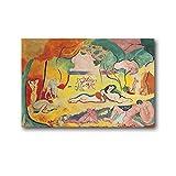 ZHOUXIN Henri Matisse Paintings Le Bonheur De...