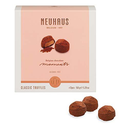 Neuhaus Belgian Chocolate Butter Truffles Moments Box, Gourmet Butter Truffles, Fine Belgian Chocolates, 150 gr