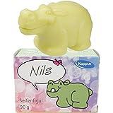 Kappus Seife Figur Nilpferd Nils 90g mit Duft 6´Pack (6 * 90g)