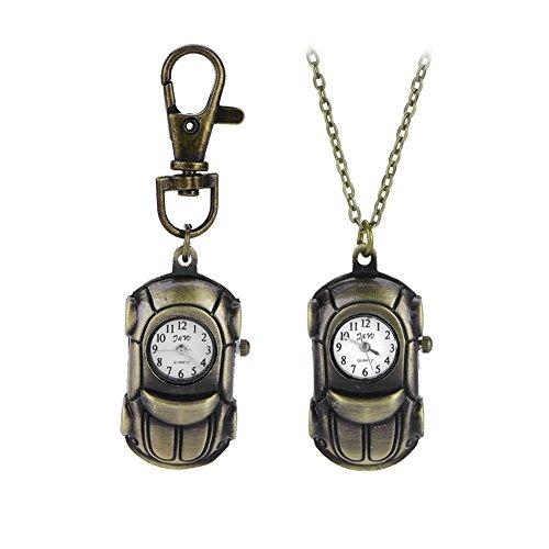 Emorias 1 Set Schlüsselanhänger für Auto, Legierung, Retro, Organizer, Kette, Original-Schlüsselanhänger.
