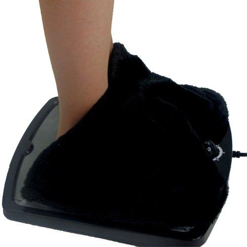 Captelec - Calentador eléctrico con termostato para pies (calienta en 2 minutos)