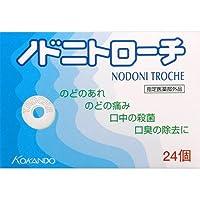 【3個セット】ノドニトローチ 24個入×3個セット