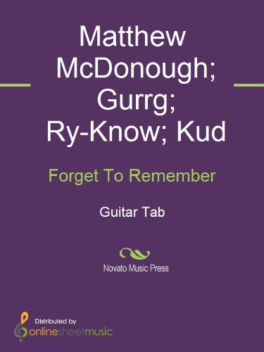 Forget To Remember (English Edition)