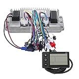 Resistencia al polvo Controlador duradero sin escobillas Instrumento Triciclos eléctricos Accesorio Controlador de triciclos eléctricos, para motocicletas eléctricas de dos ruedas