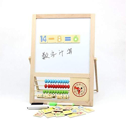 ? Wood blok hout activiteiten th - Whiteboard Ezel tijd het leren van wiskunde Z kiezen kralen Abacus Classic speelgoed educatief speelgoed? (Kleur: Bont, Gr ?? e: Gratis Gr ?? e), Gr ?? e: Gratis gro