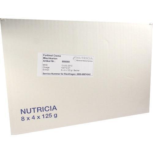 FORTIMEL Creme Mischkarton 8X4X125 g