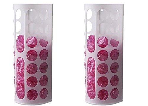 Ikea VARIERA Plastic Bag Dispenser, White (2pc)