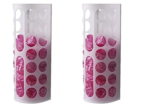 Cheapest Price! Ikea VARIERA Plastic Bag Dispenser, White (2pc)