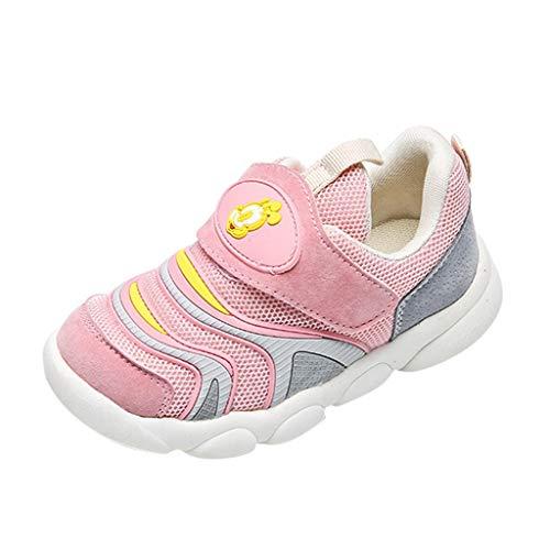 catmoew (9M-7J Kinder Mesh Atmungsaktiv Freizeit Turnschuhe Gemütlich Cartoon Laufenschuhe Baby Mädchen Jungen Mode Patchwork Sport Lässige Schuhe Mit Klettverschluss