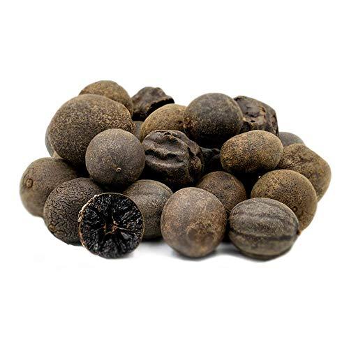 Med Cuisine Getrocknete schwarze Limetten - Schwarze getrocknete Limetten - Zitrus, rauchig, vegan, gentechnikfrei, glutenfrei und koscher - Tolles authentisches Gewürz - 500 g Beutel