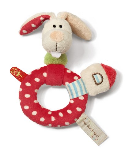 Best Price My First Nici Rabbit Ring Rattle