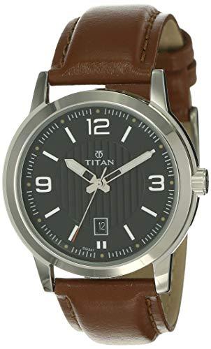 Titan Neo Analog Black Dial Men's Watch