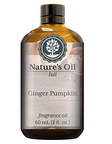 Ginger Pumpkin Fragrance Oil (60ml) For Diffusers, Soap Making, Candles, Lotion, Home Scents, Linen Spray, Bath Bombs, Slime