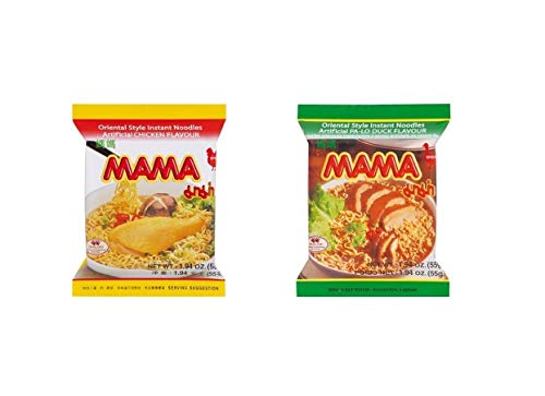 Pamai Pai® Probierpaket: Ente - Huhn 20 x 55g Tütensuppe Mama Suppe Nudelsuppe