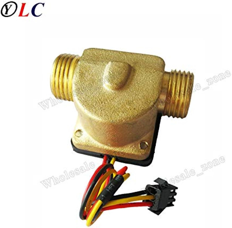 Water Heater Water Flow Sensor Water Flow Meter Switch Copper Flow Sensor 130L min