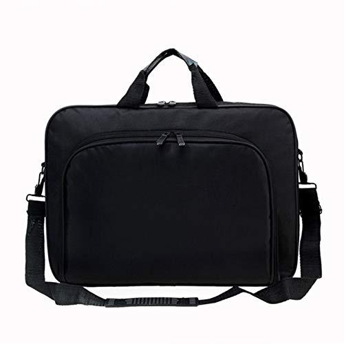 ZYSTMCQZ - Maletín bandolera para ordenador portátil, 15,6 pulgadas, unisex, bolsa de oficina para trabajo, escuela, viajes, uso diario, múltiples bolsillos