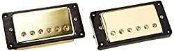 Kmise 1set Humbucker Pickup Gold for Gibson Les Paul Review