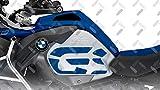 Kit X2 GS Camuflaje Adhesivo Lateral para Motocicleta BMW R 1200 GS ADV 2014-2018 ST-GS-R1200ADV (Racing Blue)