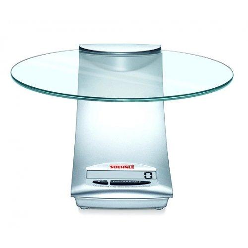 Soehnle Digital Kitchen Scale, Silver