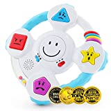 Product Image of the BEST LEARNING My Spin & Learn Steering Wheel - Interactive Educational Toys for...