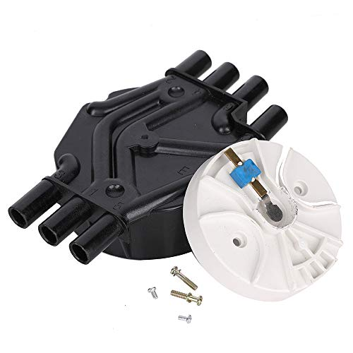 10452457 10452458 Distributor Cap and Rotor Replacement for GMC Che vrolet Trucks V6 4.3L Vortec DR475 DR331 D465 D328A DR475T