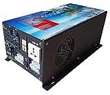 Inverter pure sine wave 1000w, 2000w, 3000w, 5000w, 8000w,Inversor onda pura 12v 24v to 220V Convertidor con Bobina Bajo Frecuencia (5000w 24v Cargador)
